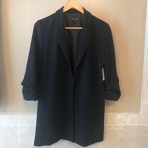 Boho Chic black blazer jacket